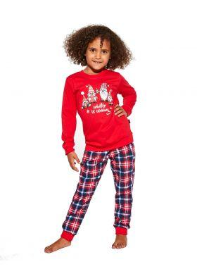 134-164 dievčenské pyžamo CORNETTE Young Girl 592/147 Gnomes