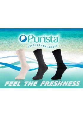Pánske antibakteriálne ponožky TAK Purista
