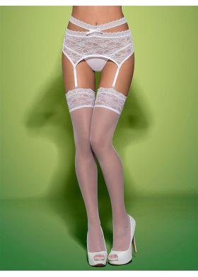 Pančušky OBSESSIVE Swanita stockings