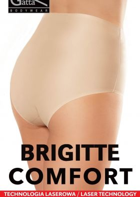 Bezešvé vyšší kalhotky GATTA Brigitte Comfort