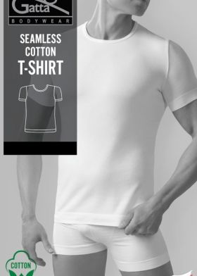 Bezešvé bavlněné tričko GATTA T-shirt 2409S