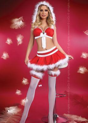 Vánoční kostým LivCo CORSETTI Little Miss Christmas