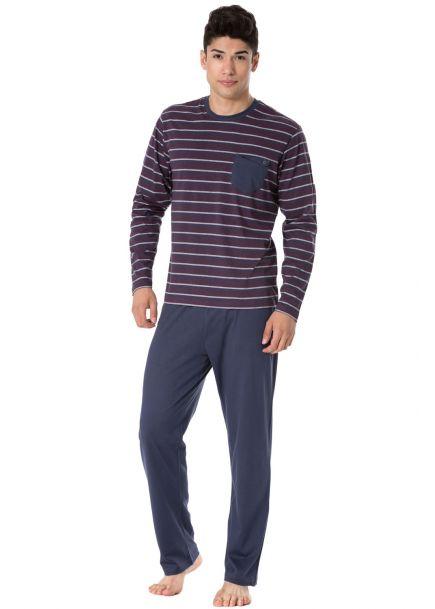 Pánske pyžamo ROSSLI 096