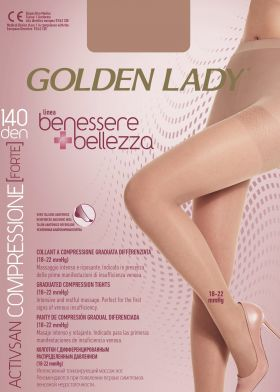 Kompresné pančuchy GOLDEN LADY Benessere 140DEN