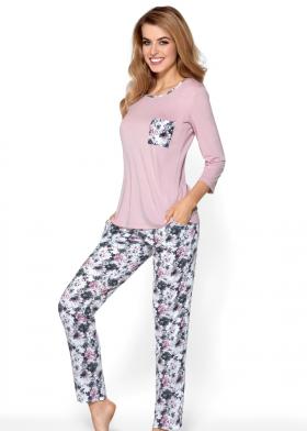 Dlouhé dámské pyžamo NIPPLEX Gabriela