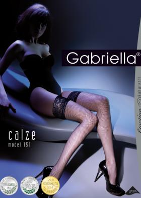 Síťované silonky GABRIELLA Kabarette 151