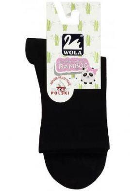 Dámske ponožky WOLA Comfort Woman Bamboo