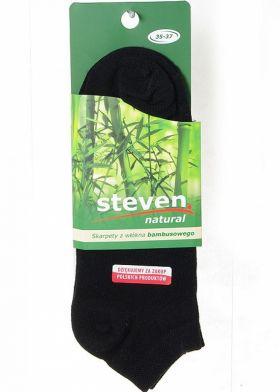 Kotníkové ponožky STEVEN Bamboo