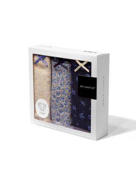 3 balenie - bavlnené nohavičky ATLANTIC 3LP-157