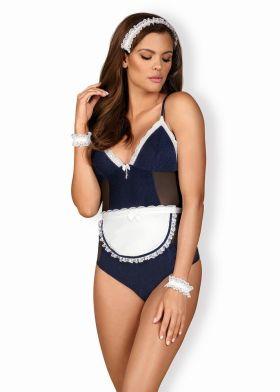 Divoký kostým OBSESSIVE Maid teddy