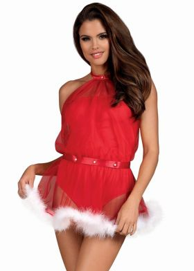 Vianočný kostým OBSESSIVE Santastic dress