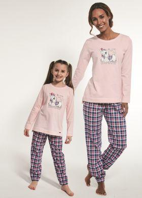 Dlouhé dámské pyžamo CORNETTE 627/229 Scootie