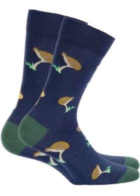 Pánské vzorované ponožky WOLA W94N03-499