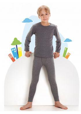 Chlapčenské thermo spodné nohavice CORNETTE Young Thermo Plus 134-164