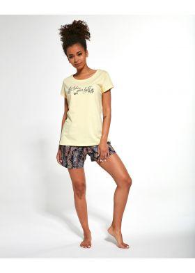 3-dílné dámské pyžamo Cornette 665/245 Shine