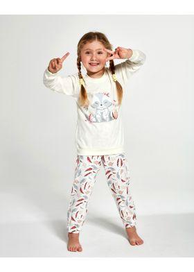 Dívčí pyžamo Cornette 594/121 Raccon