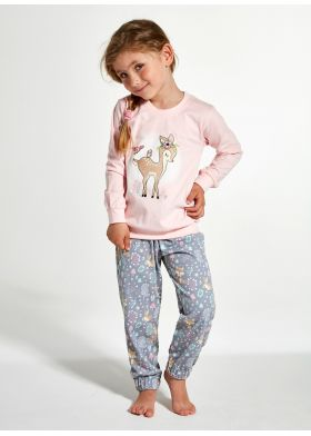 Dievčenské pyžamo CORNETTE 594/122 Roe