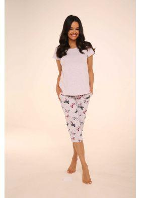 Dámske pyžamo DE LAFENSE 483 Mariposa