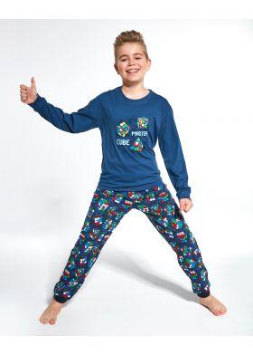 Pyžamo pre chlapcov CORNETTE 593/102 Cube Master