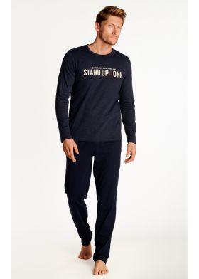Pánske pyžamo HENDERSON 38382 Outdoor