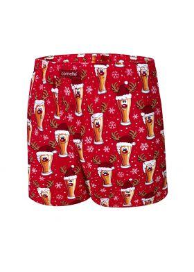 Vianočné boxerky CORNETTE 016/13 Beer 5
