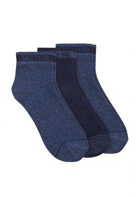 3 ks členkové ponožky MUSTANG 32007 A3