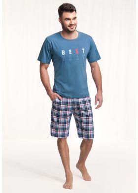 Krátke pánske pyžamo LUNA 718 3XL
