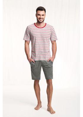 Pánske krátke pyžamo LUNA 771