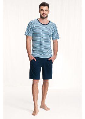 Pánske krátke pyžamo LUNA 771 3XL