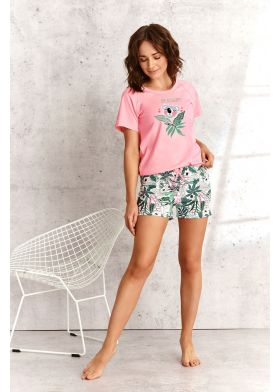 Krátke dámske pyžamo TARO Aurelia 2287 L21