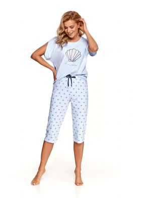 3/4 dámske pyžamo TARO Mona 2371 L21