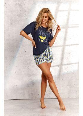 Letné pyžamo TARO 2495 Lemon