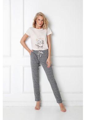 Dámske pyžamo ARUELLE Owella Long