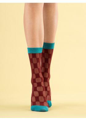 Silonkové ponožky FIORE G 1113 Check Twice
