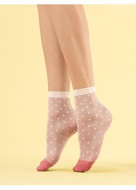 Silonkové ponožky FIORE G 1108 Panna Cotta