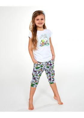 Bavlnené dievčenské pyžamo CORNETTE 487/84 Bunny