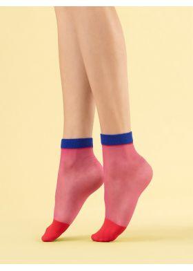 Silonkové ponožky FIORE G 1109 Sunset Glow
