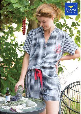 Krátke dámske pyžamo KEY LNS 451 4