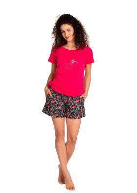 Bavlnené krátke pyžamo LAMA L-1390 PY