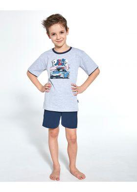 Chlapčenské pyžamo CORNETTE Kids Boy 473/89 Police