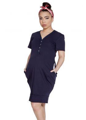 Tehotenská nočná košeľa MITEX Mama Dress K