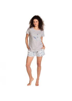 Krátke pyžamo LAMA L-1399 PY