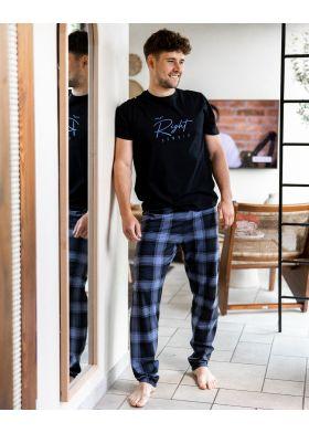 Bavlnené pánske pyžamo SENSIS Victor