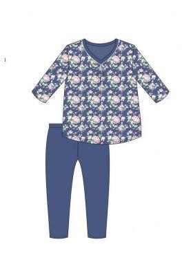Dámske pyžamo CORNETTE 481/289 Karen 3/4 XXL