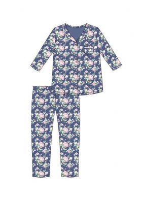 Dámske klasické pyžamo CORNETTE 482/283 Cindy