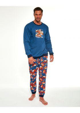 Pánske pyžamo CORNETTE 456/174 Pumpkin