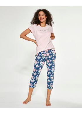 Dámske trojdielne pyžamo CORNETTE 466/281 Beautiful