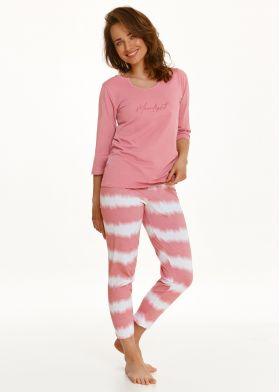 Bavlnené dámske pyžamo TARO Carla 2567