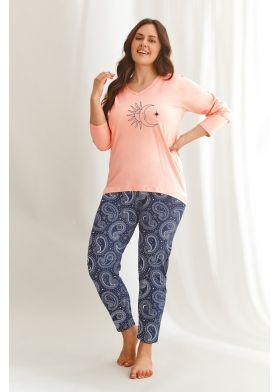 XXL dámske pyžamo TARO Omena 2611 Z22