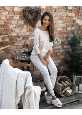 Dámske bavlnené pyžamo SENSIS Alive